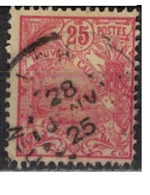 NIOUVELLE CALEDONIE       N°  YVERT  :   117   ( 1 )    OBLITERE       ( Ob   7/ 44  ) - Nueva Caledonia