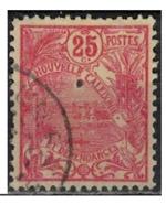 NIOUVELLE CALEDONIE       N°  YVERT  :   117   ( 2 )    OBLITERE       ( Ob   7/ 44  ) - Nueva Caledonia