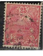 NIOUVELLE CALEDONIE       N°  YVERT  :   117   ( 3 )    OBLITERE       ( Ob   7/ 44  ) - Nueva Caledonia