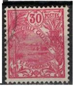 NIOUVELLE CALEDONIE       N°  YVERT  :   118  ( 1 )   OBLITERE       ( Ob   7/ 44  ) - Nueva Caledonia