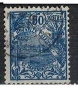 NIOUVELLE CALEDONIE       N°  YVERT  :   120     OBLITERE       ( Ob   7/ 44  ) - Nueva Caledonia