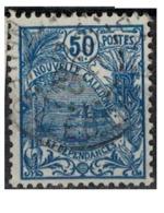 NIOUVELLE CALEDONIE       N°  YVERT  :   120  ( 3 )    OBLITERE       ( Ob   7/ 44  ) - Nueva Caledonia
