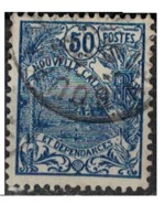 NIOUVELLE CALEDONIE       N°  YVERT  :   120  ( 4 )    OBLITERE       ( Ob   7/ 44  ) - Nueva Caledonia