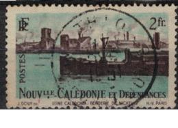 NIOUVELLE CALEDONIE       N°  YVERT  :   268   OBLITERE       ( Ob   7/ 44  ) - Usados