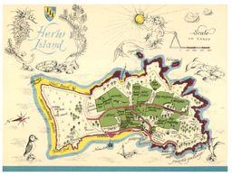 (C 18) UK - Herm Island Map - Maps