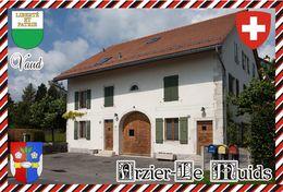 Postcard, REPRODUCTION, Switzerland, Canton Vaud, Arzier-Le Muids - Maps