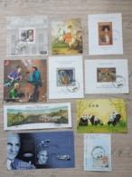 2003 - 2009  10 Blöcke Mi 18 19 20 21 22 26 27 29 31 52 Gest. O  S. Foto - Blocks & Sheetlets & Panes