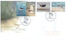 (C 20) Australia FDC - Australie Premier Jour - 2008 - Birds - Cocos (Keeling) Islands