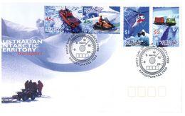 (C 20) Australia FDC - Australie Premier Jour - 1998 - Transport - FDC