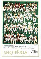 ALBANIA - 1974 Abdurahim Buza Painting Tirana Exhibition MS MNH - Albanien