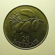 Moçambique 20 Meticais 1994 - Mozambique