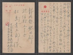 JAPAN WWII Military Japan Flag Mark Picture Postcard CENTRAL CHINA WW2 MANCHURIA CHINE MANDCHOUKOUO JAPON GIAPPONE - 1943-45 Shanghai & Nanjing