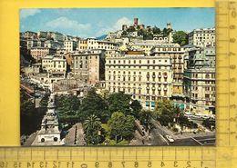 CPM  ITALIE, LIGURIA, GENOVA : Piazza Acquaverde - Genova (Genoa)