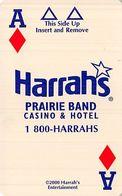 Harrah's Prairie Band Casino - Mayetta KS - Hotel Room Key Card - Hotel Keycards