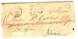 34345 - DE RAVEL Pour Le RHONE - 1849-1876: Période Classique