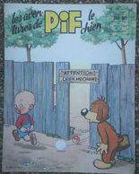 Jf6.e- Aventures De PIF Le CHIEN N°  19 De Septembre 1959  L'Humanité - Pif - Autres