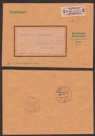 Wismar ZKD B21 D Fernbrief Staatliches Holzkontor 23.9.59 - DDR