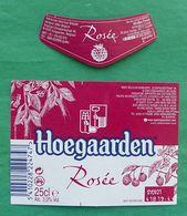 Horgaarden Rosee Beer Label - Bière