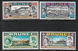 BRUNEI - N°172/5 ** (1972) Visite D'Elizabeth II - Brunei (...-1984)