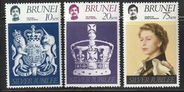 BRUNEI - N°233/5 ** (1977) Silver Jubilée - Brunei (...-1984)