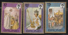 BRUNEI - N°236/8 ** (1978) Elizabeth Ii - Brunei (...-1984)