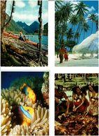 POLYNESIE /  Lot De 45 Cartes Postales Modernes écrites - Cartes Postales