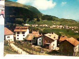 SAN SEBASTIANO DI FOLGARIA PERPRUNERI TRENTO PANORAMA VEDUTA VB1978 HQ9844 - Trento