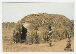 Sénégal N°72 Une Case Peulh A Peluh Hut Femme Et Enfants Postée à ZIGUINCHOR En 1991 VOIR Timbre - Senegal