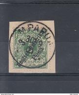 Reich Michel Kat.Nr. DOA Gest 7 Mpapua - Kolonie: Deutsch-Ostafrika