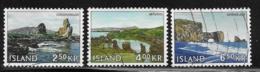 Iceland Scott # 380-1,383 Used Landscapes, 1966 - 1944-... Republique