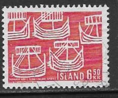 Iceland Scott # 404 Used Ships, 1969 - 1944-... Republique