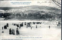 CPA 1915 - FETE DU PATINAGE SUR LE LAC - - Gerardmer
