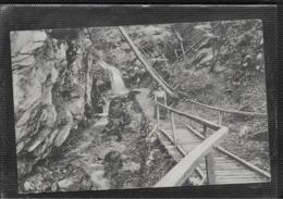 AK 0525  Dürrenbach-Wasserfall Bei Waldegg - Verlag Ledermann Um 1908 - Gutenstein
