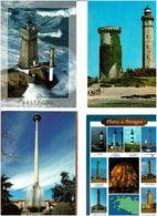 PHARES /  Lot De 90 Cartes Postales Modernes écrites - Cartes Postales