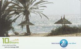 Tunisia, TN-TTL-REF-0025, Beach, 2 Scans. - Tunisie