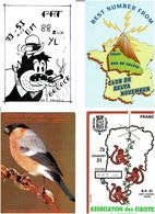 CARTES QSL  / Lot De 45 CPM écrites - Cartes Postales