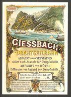 Carte P ( Giessbach / Lac De Brienz ) - BE Berne