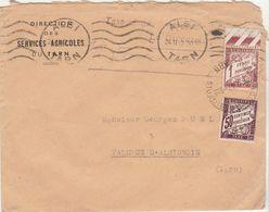 "ESC Direction Services Agricoles Du Tarn ""simple Taxe"" Albi -> Valence D'Albigeois 1942 - 1921-1960: Modern Tijdperk"
