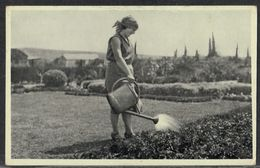 Girl's Farm At Nahalal - Israel Palestine - Jewish Judaica Juive Palestine - Judaisme