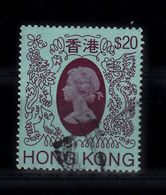 Hong Kong 1982, Mi Nr 402,  Gestempeld, Koningin Elisabeth II -1 - Hong Kong (...-1997)