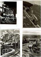 TRAINS / Lot De 44 CPSM écrites - Cartes Postales