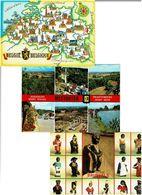 ALGERIE / Lot De 90 CPM écrites - Cartes Postales