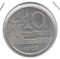 *brazil 10 Centavos  1967  Km 578.2 Xf+ - Brasilien
