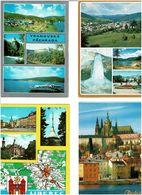 EX - TCHECOSLOVAQUIE / Lot De 90 CPM écrites - Cartes Postales