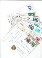 HONGRIE / Lot De 90 CPM écrites Et Timbrées - Cartes Postales
