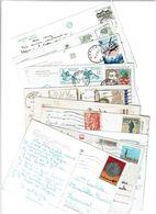 POLOGNE / Lot De 90 CPM écrites Et Timbrées - Cartes Postales
