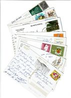 PORTUGAL / Lot De 90 CPM écrites Et Timbrées - Cartes Postales
