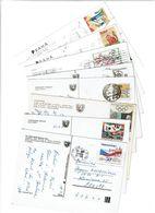 EX - TCHECOSLOVAQUIE / Lot De 90 CPM écrites Et Timbrées - Cartes Postales