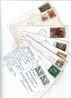EX - YOUGOSLAVIE / Lot De 90 CPM écrites Et Timbrées - Cartes Postales