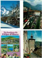 38  / ISERE / Lot 1000 Cartes Postales Modernes écrites - Cartes Postales